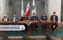 درب خانه حاج آقا علی بعد از ماهها با کلید شهرداری رفسنجان باز شد
