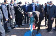 عملیات اجرایی احداث تصفیه خانه مرکزی رفسنجان آغاز شد