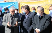 کلنگزنی ۳ پروژه مجتمع مس سرچشمه رفسنجان با حضور وزیر صمت