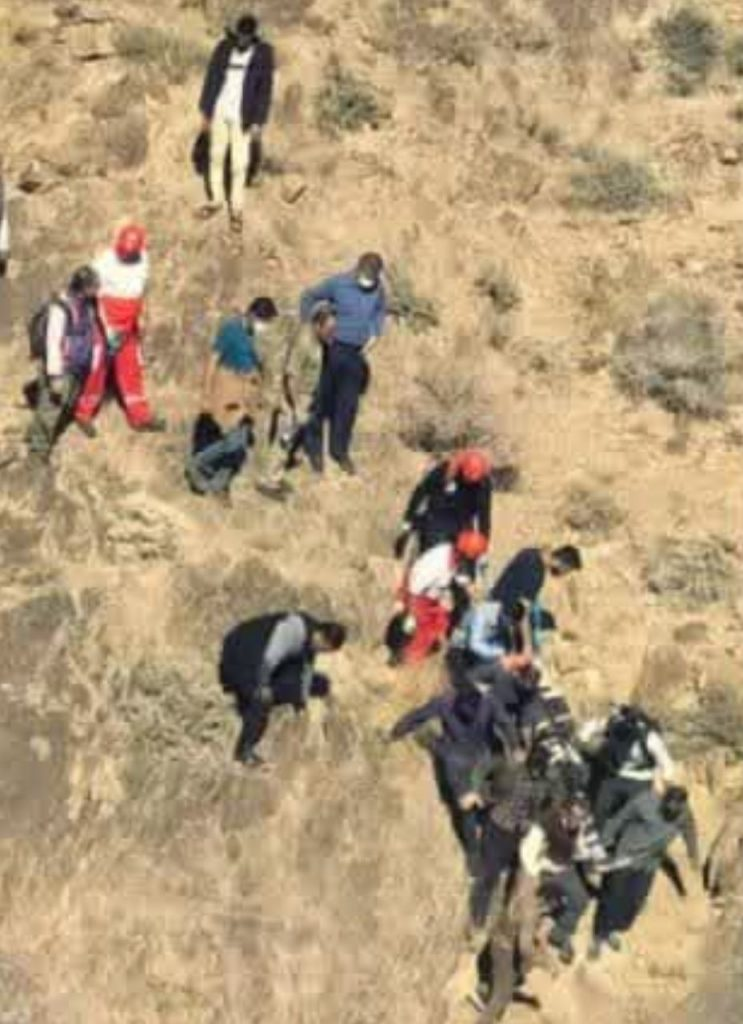 سقوط مرگبار کوهنورد رفسنجانی