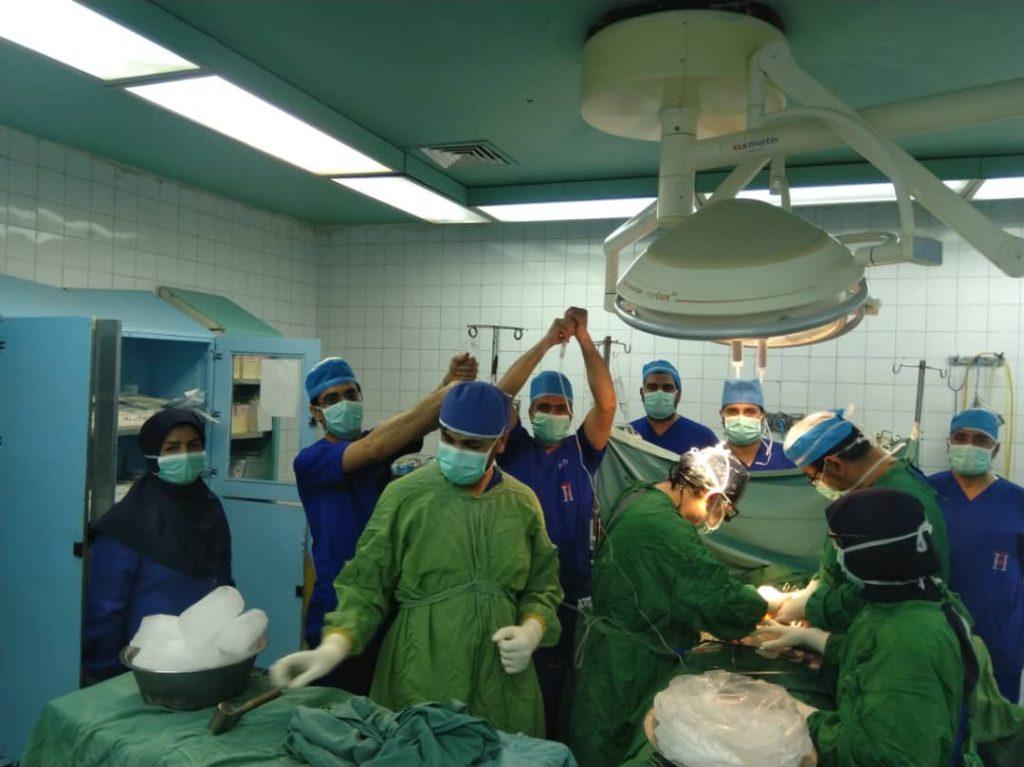 جوان رفسنجانی به ۳ بیمار زندگی اش را اهداء کرد