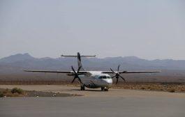 فرودگاه رفسنجان پتانسیل پروازهای بیشتر را دارد