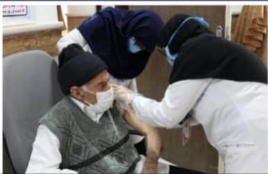 ۵ هزار سالمند بالای ۸۰ سال در رفسنجان واکسینه می شوند