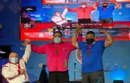وزنه بردار رفسنجانی در مسابقات جهانی تایلند مقام نخست را کسب کرد