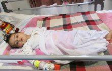 بی احتیاطی پدر، کودک را روانه اتاق عمل کرد/ با تلاش پزشکان زینب سه ساله نجات پیدا کرد