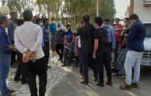 تجمع اعتراضآمیز به کمبود مرغ در یکی از روستاهای رفسنجان