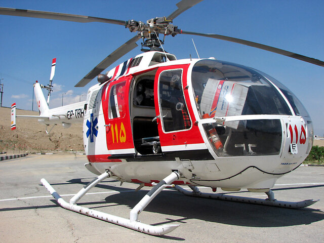 اورژانس هوایی در رفسنجان راهاندازی میشود
