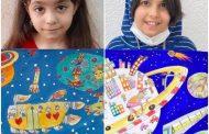 کودکان رفسنجانی در جشنواره نقاشی نجوم اول شدند