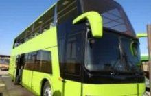اتوبوس دو طبقه گردشگری وارد ناوگان حملونقل شهر رفسنجان شد
