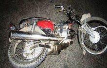 دو جوان موتورسوار در تصادف با النود کشته شدند